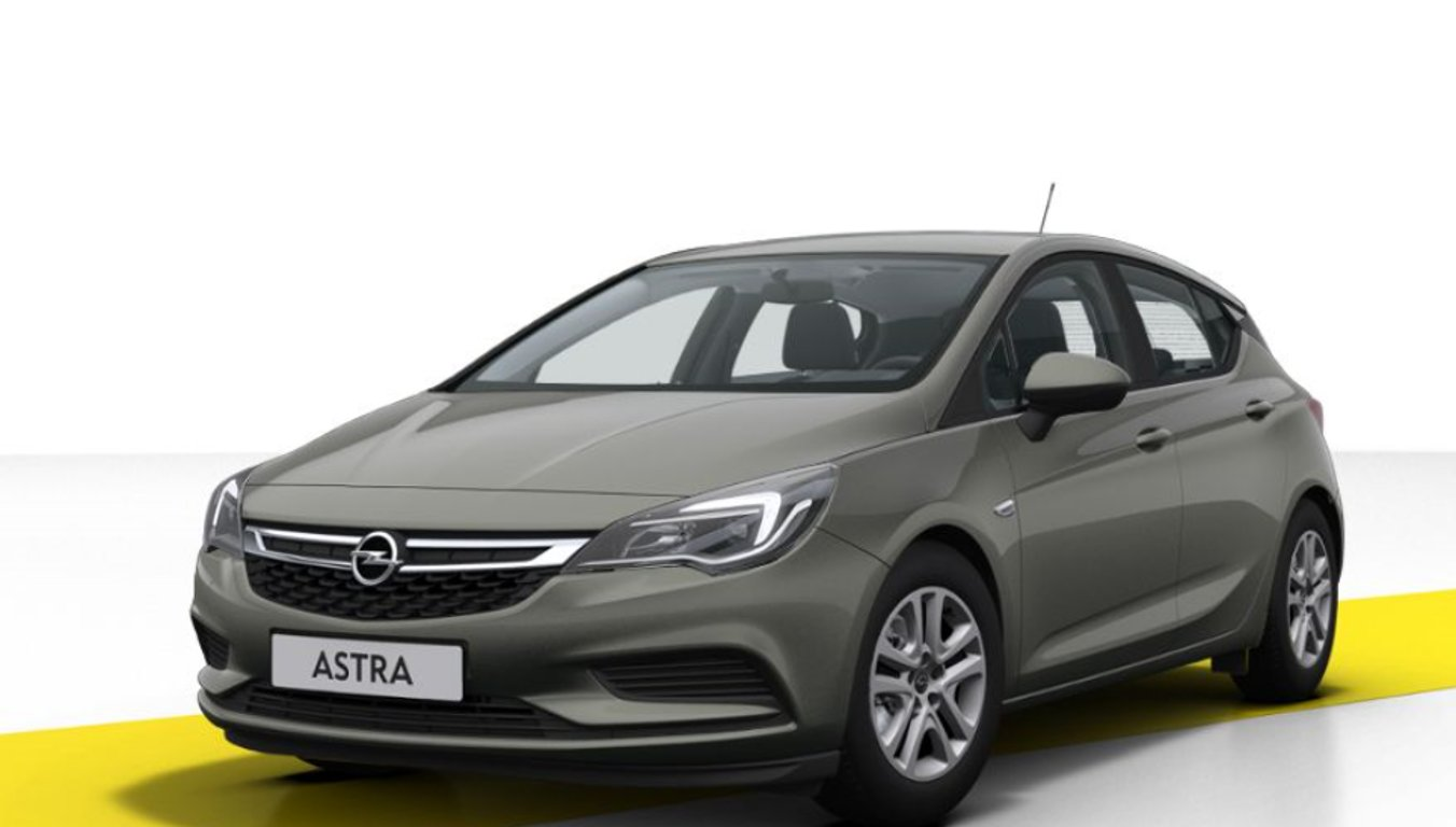 Opel Astra Smile 5DR 1.4 Turbo 92kW/125k