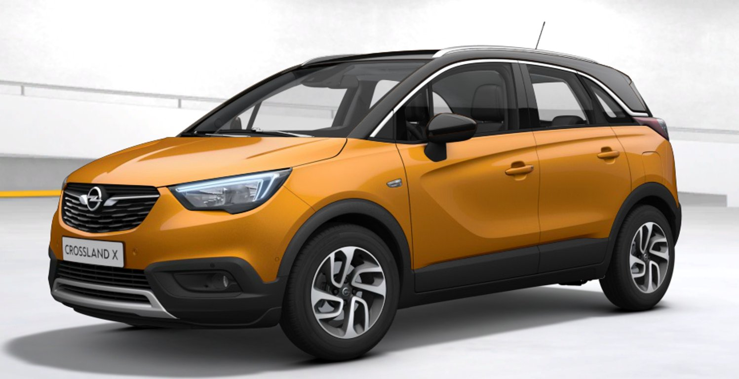 Opel Crossland X 1.2 Turbo 96kW MT6 Innovation